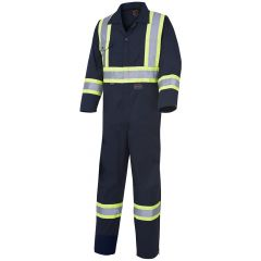 Pioneer V2020680-40 Blue 40 Polyester/cotton Safety coverall