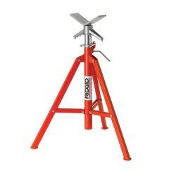 "Ridgid 22168 V head 28""-51"" / 71-132cm folding pipe stand"