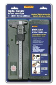 "Samona International 28123 6""/150mm digital caliper"