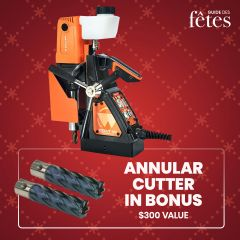"""Walter 39D100 1-3/8"""" ICECUT magnetic drill"""