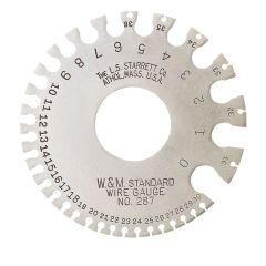 Starrett 287 0-36 wire gage