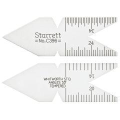 Starrett C396 Jauges de centrage 60°