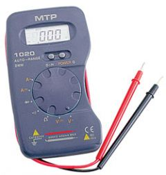 Instruments MTP MTP1020 LCD multimeter
