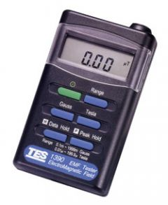 Instruments MTP TES1390 Détecteur de champ électromagnétique 200 / 2000