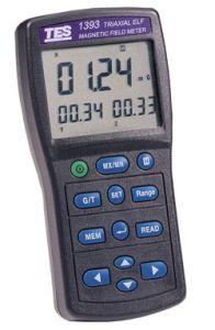 Instruments MTP TES1393 Détecteur de champ électromagnétique 20 / 200 / 2000