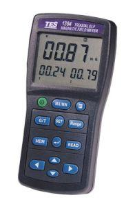 Instruments MTP TES1394 Détecteur de champ électromagnétique 20 / 200 / 2000