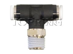 "Topring 40-335 1/8"" x 1/8 (M) NPT Topfit Male swivel branch tee"