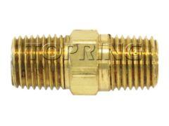 "Topring 41-105 1/4"" (M) NPT hexagonal brass fitting"