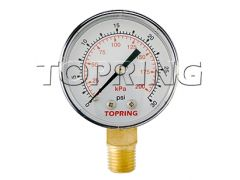 "Topring 55-200 Manomètre standards à sec 2"" 1/4 NPT lm 0-30"