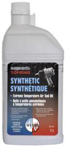 Topring 69-401 Huile synthétique pour outils pneumatiques pour températures extrêmes (1L)