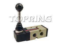 Topring 80-949 Valve manette/ressort/ouvert à la pression 5/3 1/4 (F) NPT OPTIMA