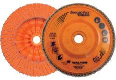 "Walter 06A502 Disque à feuillets ENDURO-FLEX 5"" x 5/8""-11 ( grain 36/60 )"