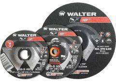 "Walter 08B910 Meule à rectifier 1/4"" HP 9"" x 1/4"" x 7/8"""