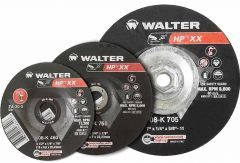 "Walter 08K600 6"" x 1/4"" x 7/8"" HP XX grinding wheel"