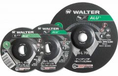 "Walter 08L702 7"" x 1/8"" x 7/8"" ALU grinding wheel"