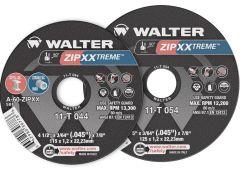 """Walter 11T054 Meule à tronçonner zip xxtreme 5"""" x 3/64"""" x 7/8"""""""