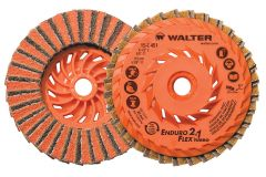 "Walter 15I501 Disque combiné ENDURO-FLEX 5"" x 5/8""-11 ( grain )"
