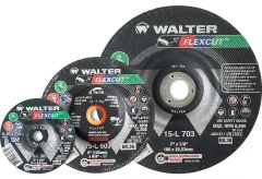 "Walter 15L602 Meule flexible FLEXCUT 6"" x 5/8""-11"
