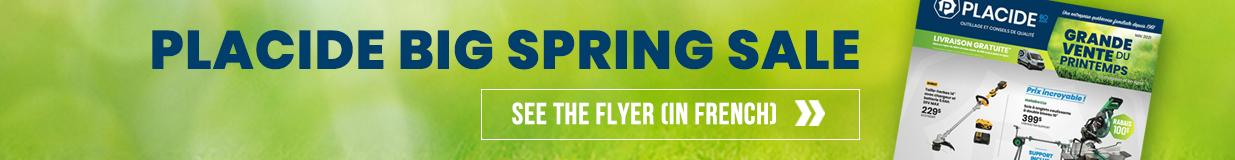 Placide Spring Sale 2021