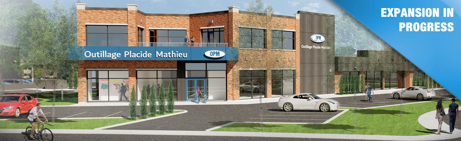 Outillage Placide Mathieu store is growing