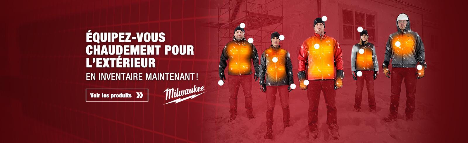 Vêtements d'hiver Milwaukee