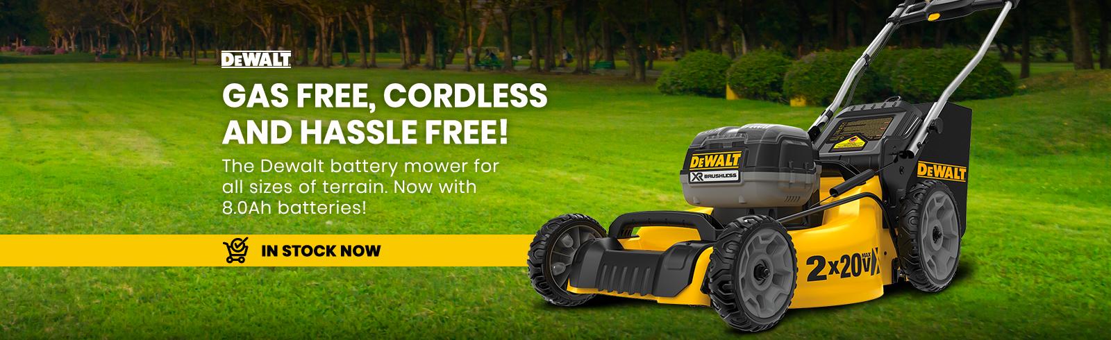 Dewalt cordless mower