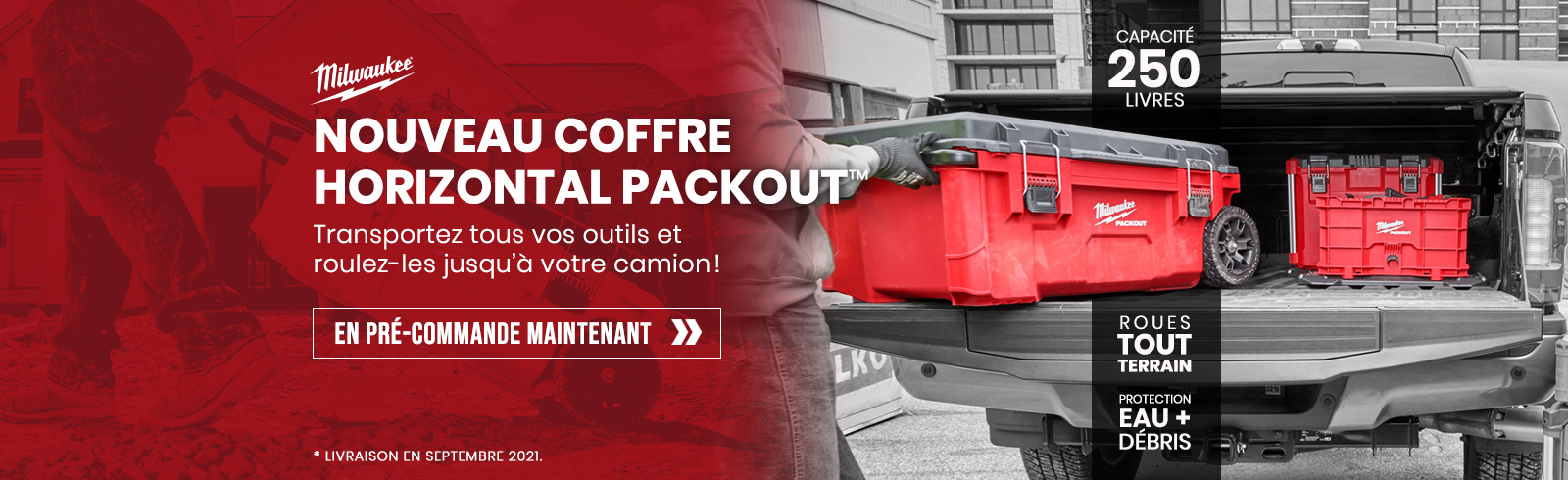 Coffre roulant Packout 48-22-8428