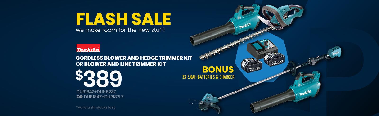 Flash Sale Makita Outdoor tools