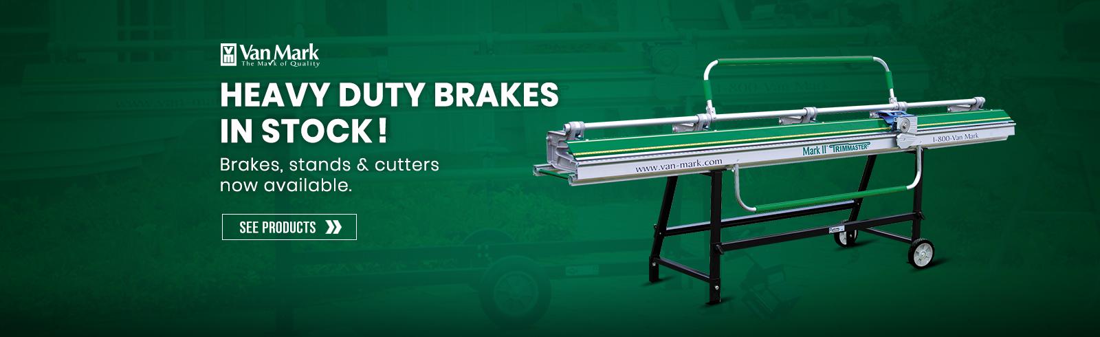 Heavy Duty Brakes in stock!