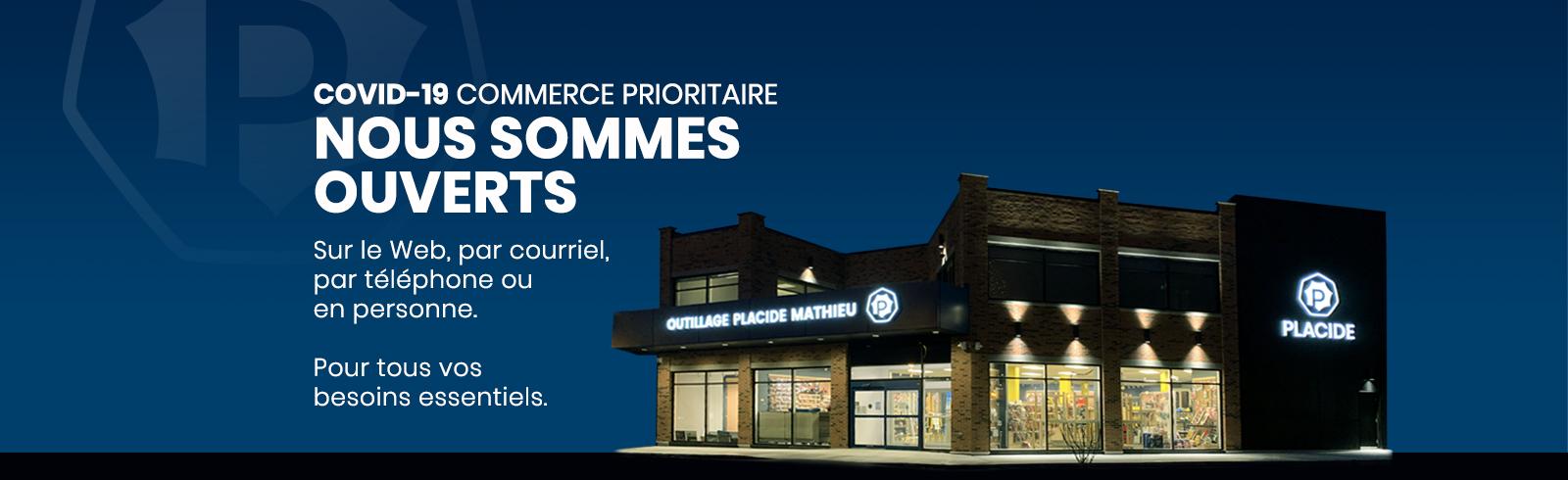 COVID-19 Commerce prioritaire