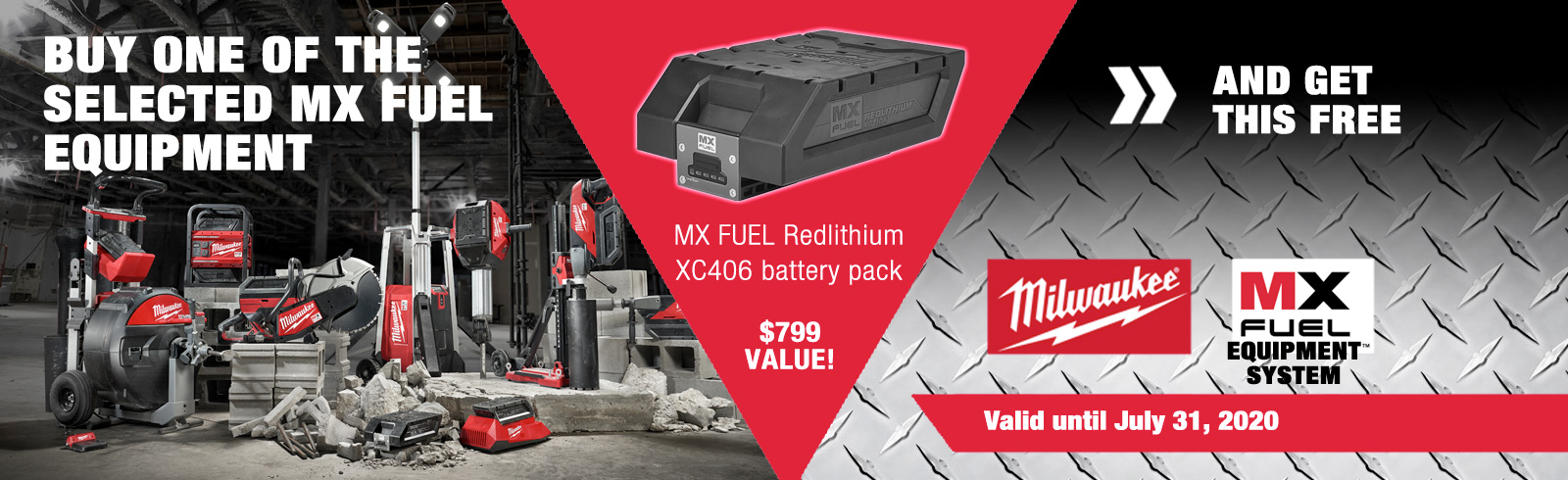 MX FUEL promotion and free battery pack until May 31 2020