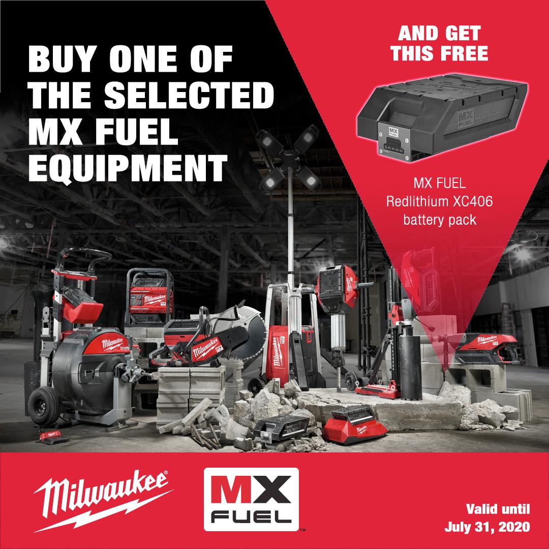 POP UP MX Fuel Free Battery Promo