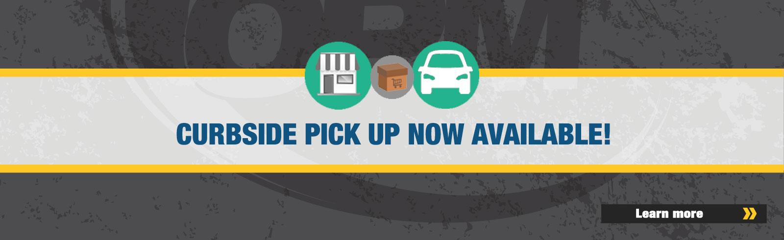 Curbside Pick Up Now Available!